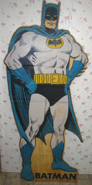 1966 Batman Movie Standee