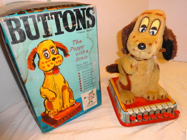 1961 Buttons the Puppy by  Marx