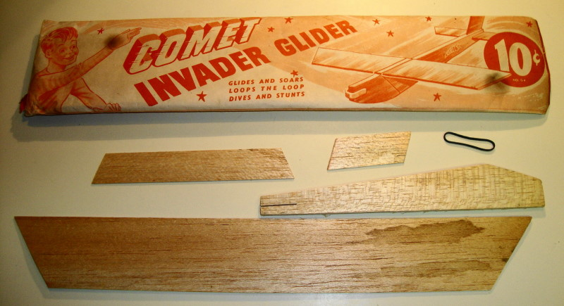 Large Balsa Wood Glider