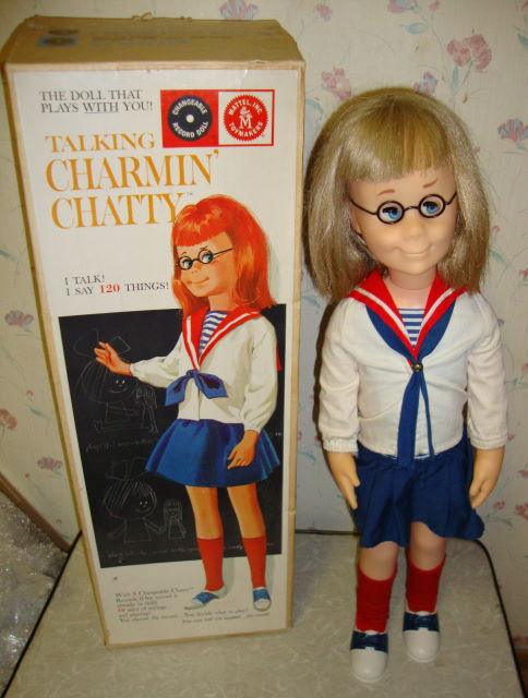 1962 Charmin Chatty Doll