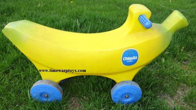 1960s Chiquita Banana Ride On Toy
