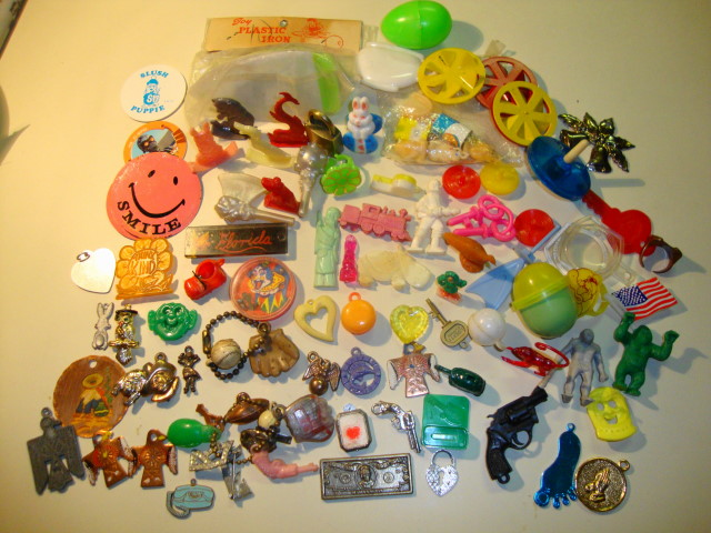 Charm & Toy Lot