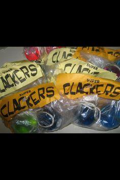 1960s Original Vintage Clackers