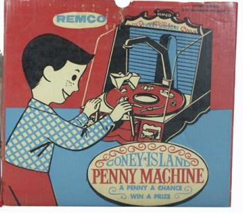 Coney Island Penny Machine