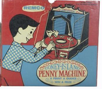 Coney Island Penny Machine