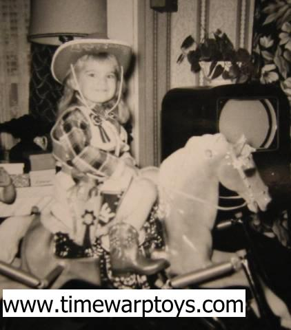 Me on my Spring Horse 1962 - Vintge Toy