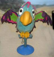 Crackers the Parrot by Mattel