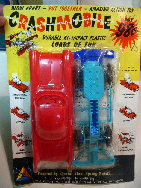 Crashmobile 1960s by Tri-Play Toys