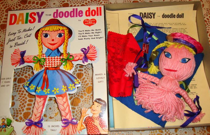 1960s Daisy The Doodle Doll