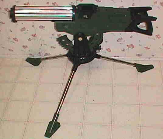Defender Dan Machine Gun