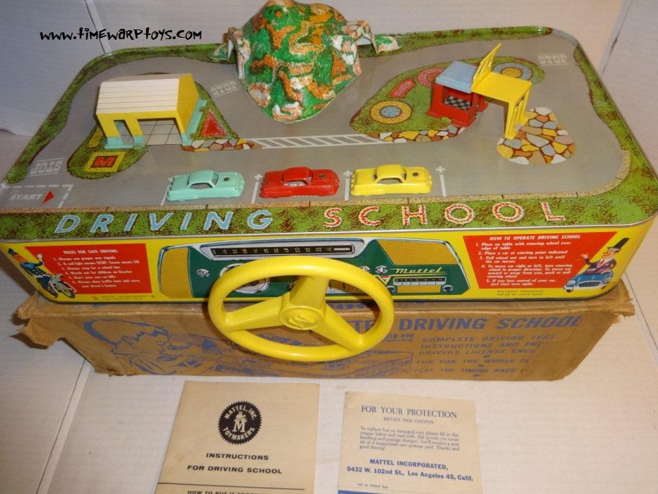 1950s Mattel Driving School