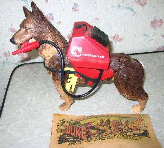 Duke The Firefighting Dog