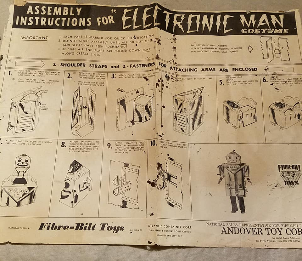 1957 Electronic Man Costume