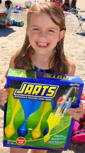 New kid-safe Jarts