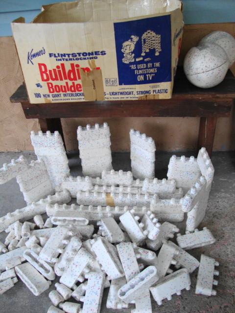 Flintstone's Building Boulders