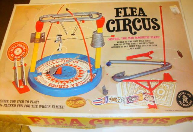 1965 Flea Circus by Mattel