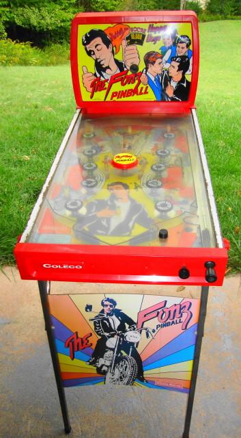 Wow! Fonz Pinball Machine by Coleco 1976