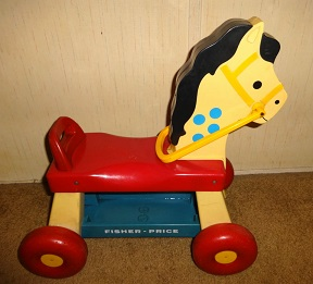 1970s Fisher Price Pony