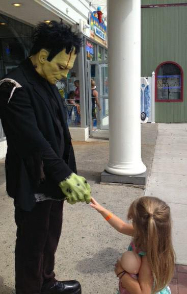 Frankenstein & G.Daughter in Lake George NY