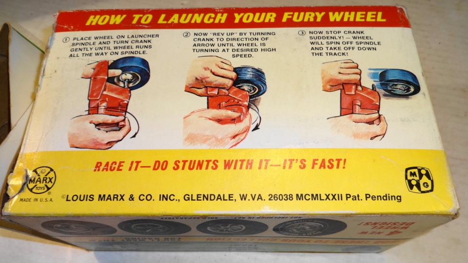 Fury Wheel by Marx - Designed by Marvin Glass 1972