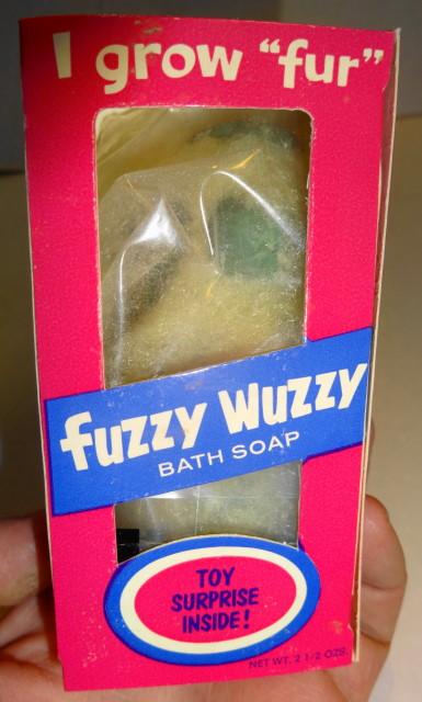 1966 Fuzzy Wuzzy Soap
