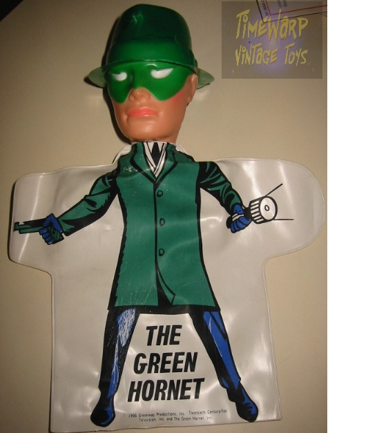 Green Hornet Puppet