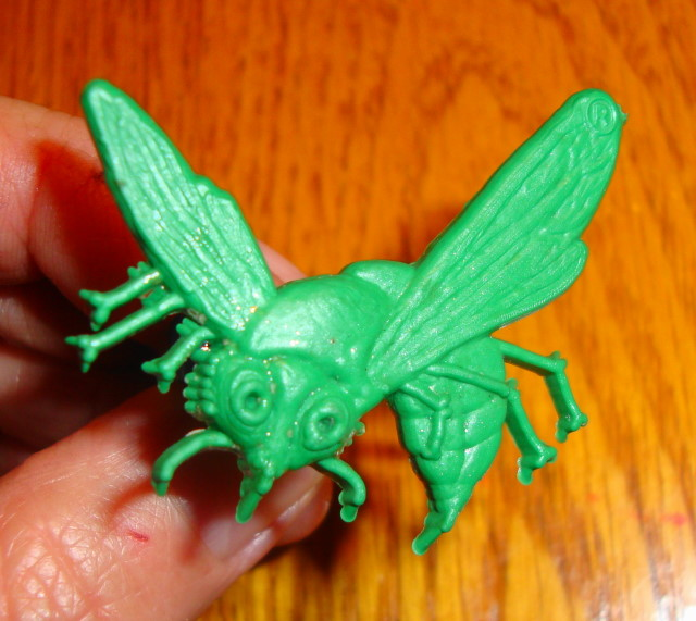 Green Hornet Ring