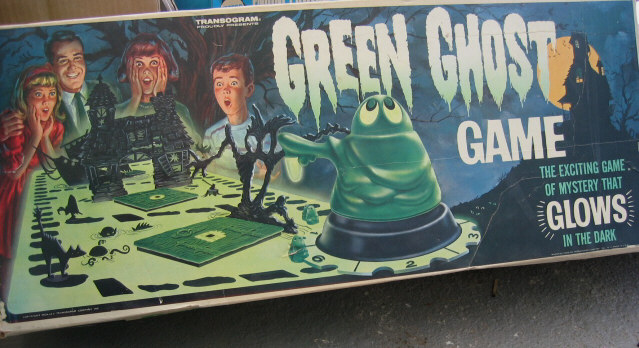 Green Ghost Game Transogram