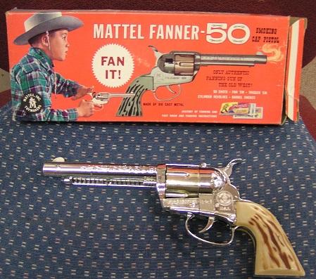 1950s Fanner Cap Gun by Mattel