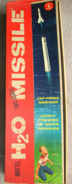 Water Rocket Missile HUGE! by Mattel