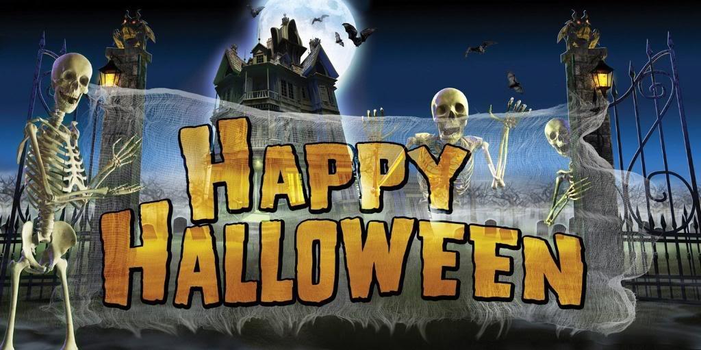 Happy Halloween from TimeWarp Toys!