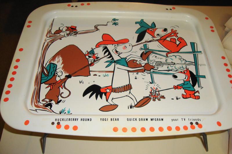 1960 Hanna Barbera TV Tray