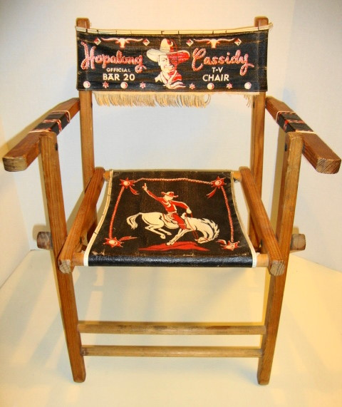 1950s Hopalong Cassidy TV Chair