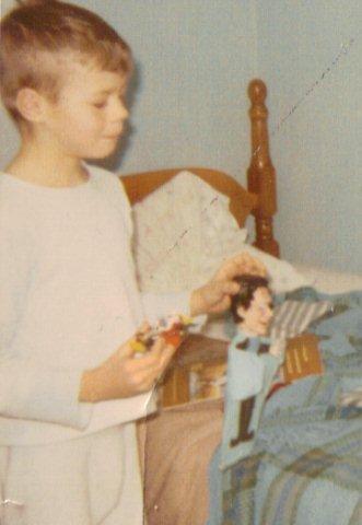 Herman Muster Puppet & Corgi Chitty Chitty Bang Bang Car