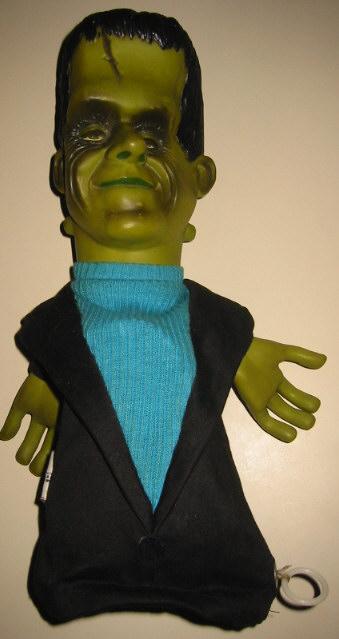 Herman Munster Talking Puppet