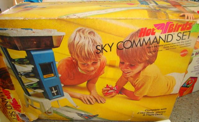 RARE Mattel Hot Birds Set 1970