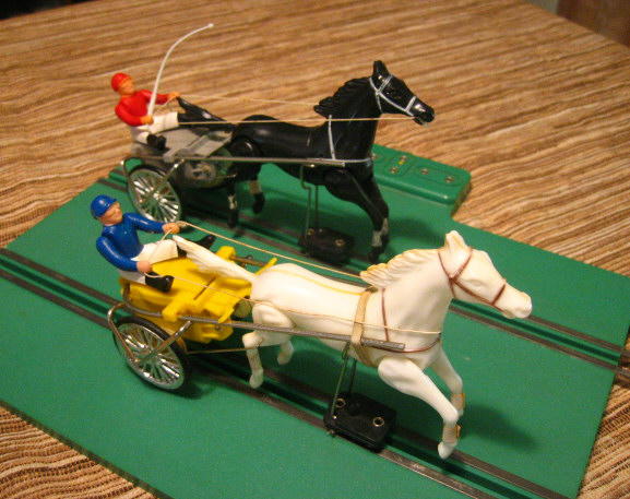Horse & Sulky Slot Racing Set