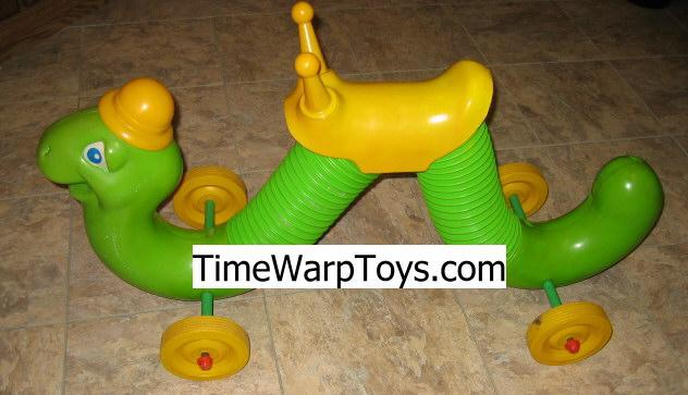 1970s Inchworm Ride On by Hasbro - Toy