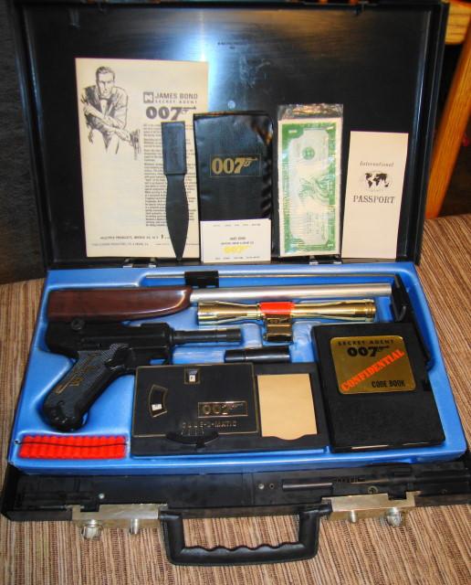 1965 James Bond 007 Attache Case
