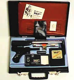 James Bond 007 Attache Case 1965 - Toy Gun