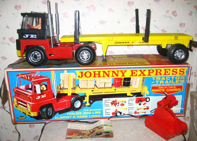 Johnny Express Toy Truck http://answers.yahoo.com/question/index?qid=20091202045829AAVERpV