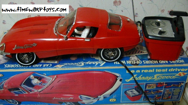 1966 Johnny Speed Topper Toys