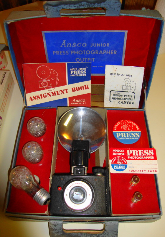 1958 Jr. Press Photographer Playset by Ansco