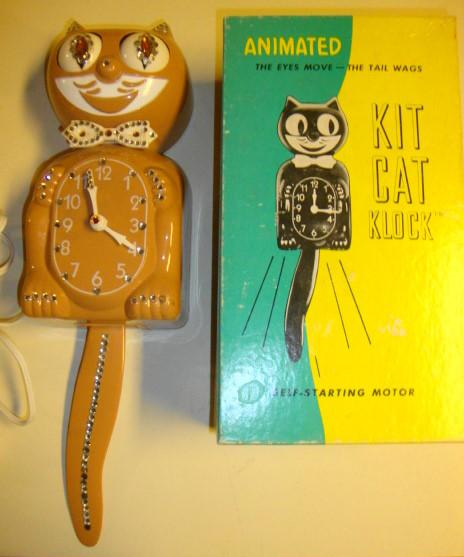 1960s Kit Cat Klock