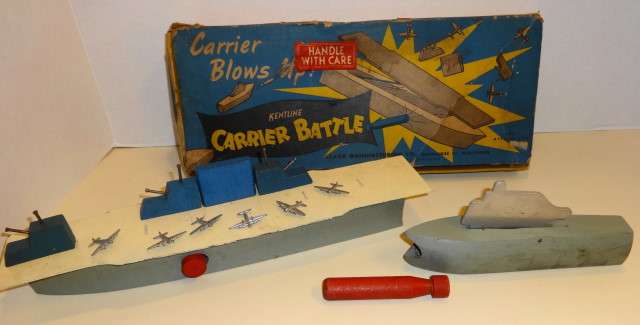 Kentline Carrier Battle Target Game 1940s