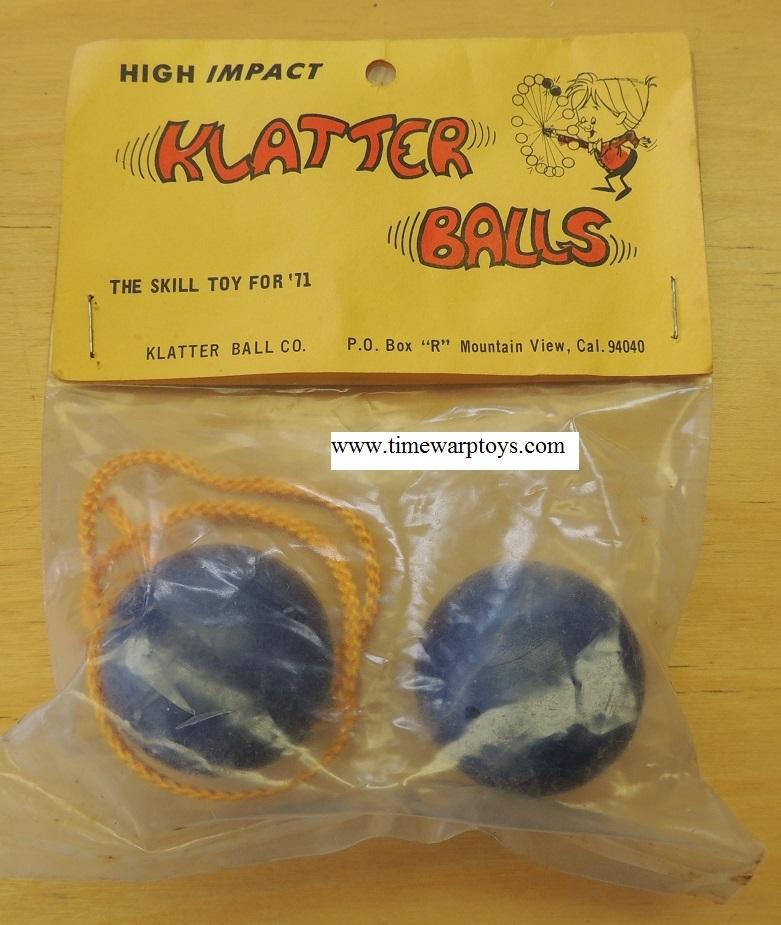 1970s Clackers