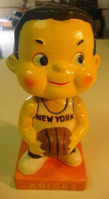 1960s NY Knicks Bobblehead - Japan 6""