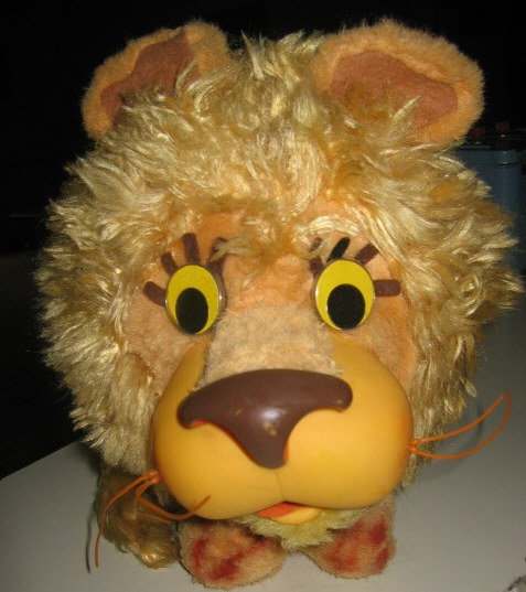 Larry the Lion by Mattel - Vintage 1960s Toy