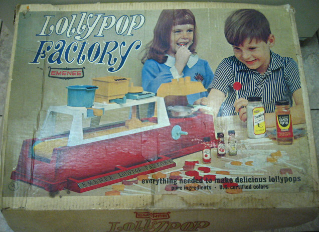 1965 Lollypop Factory by Emenee