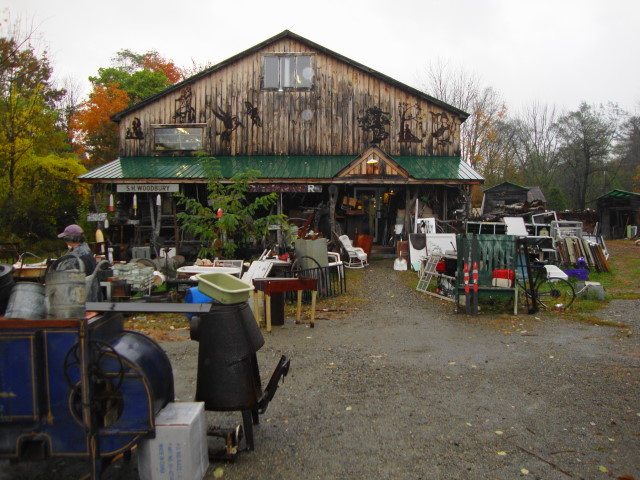 Someplace near Bangor Maine